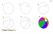 How To Draw A Ball?