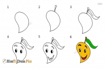 How To Draw A Orange