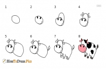 Easy Way To Draw Domestic Animals