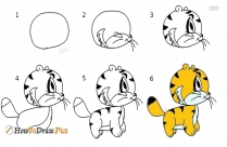 How To Draw A Panda Cute