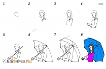 How To Draw A Dress On A Girl