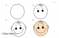 How To Draw Head Step by Step