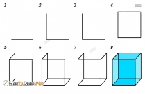 How To Draw A Ice Cube