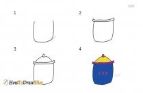 How To Draw A Jar
