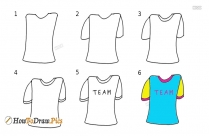 How To Draw A Jersey
