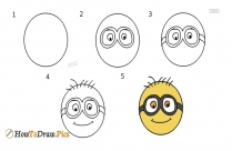 How To Draw Doraemon Face