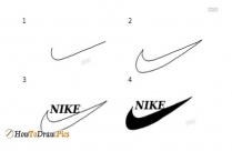 How To Draw A Nike Sign