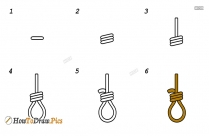 How To Draw A Noose