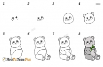 How To Draw A Panda Step By Step