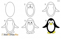 How to draw an owl step by step drawing lesson for kids?