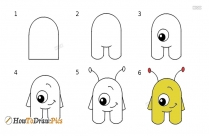 How To Draw Alien
