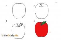 How To Draw A Cartoon Mango?