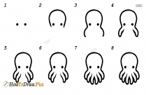 How To Draw A Octopus