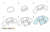 How To Draw Cartoon Cinnamoroll