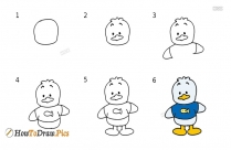 How To Draw Om Nom Easy