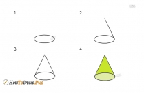 How To Draw Cone
