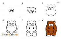 How To Draw Easy Animals Pictures
