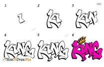 How To Draw Graffiti