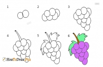How To Draw A Mango Easy