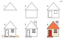 How To Draw House