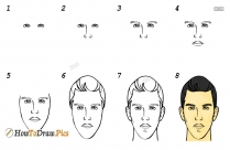 How To Draw A Snake Face