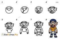 How To Draw Doraemon Characters