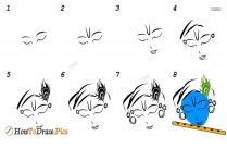 How To Draw Krishna