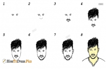 How To Draw Neymar