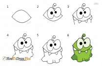 How To Draw Cartoon Sweet Coron