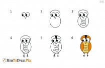 How to draw a duckling step by step drawing lesson for kids?