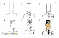 How To Draw Professor Utonium