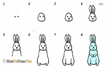 How To Draw Brinjal For Kids
