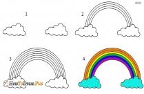How To Draw Rainbow