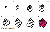 How To Draw Jasmine Step By Step