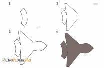 How To Draw Step By Step Jet