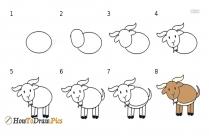 How To Draw Step By Step Farm Animals