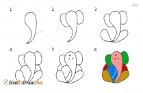 How To Draw Lord Ganesha