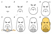 How To Draw Thanos