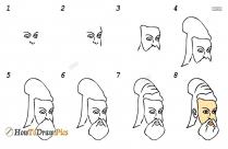How To Draw Thiruvalluvar