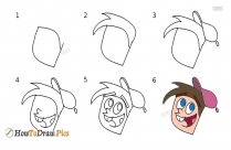 How To Draw Timmy-turner