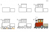 How To Draw Train