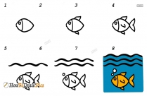 How To Draw Underwater