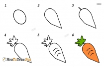 How To Draw Brinjal Picture