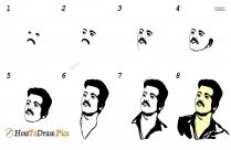 How To Draw Vijay