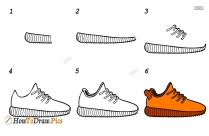 How To Draw Yeezys