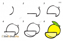 How To Make Mango Drawing